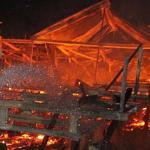 Brand verwoest populair Katwijks strandpaviljoen