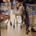 supermarkt-winkelkarretje-drukte