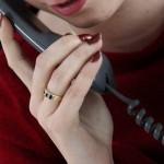 Foto van vrouw met telefoonhoorn | Sxc
