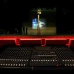 Foto van theater toneel bioscoop mengpaneel | Archief EHF