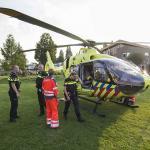Vrouw gewond na brand in woning