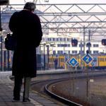 NS zet donderdag minder treinen in om verwachte zware storm