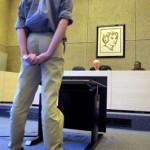 Foto van verdachte rechter rechtbank | Archief EHF