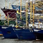 Foto van vissersschepen | Archief EHF