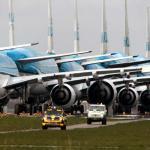 KLM parkeert vliegtuigen op landingsbaan na corona-uitbraak
