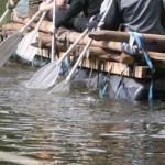 Foto van scouting vlot roeien | Archief EHF