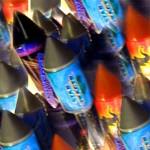 Foto van vuurwerk pijlen | Archief EHF