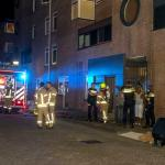 Vrouw springt van 1 hoog bij woningbrand Spijkenisse