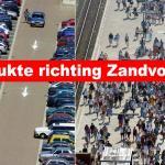 Drukte op wegen richting Zandvoort