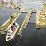 Bouw grootste zeesluis ter wereld in IJmuiden van start gegaan