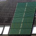 Foto van zonnepanelen op dak