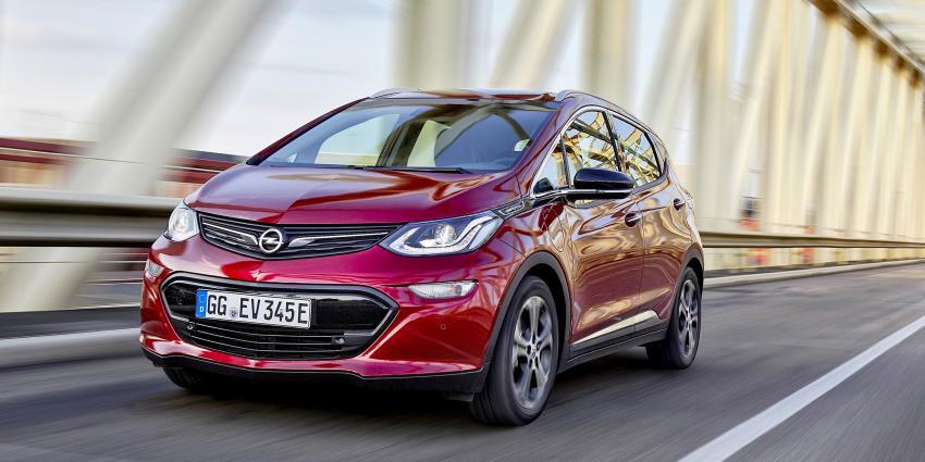 Opel Ampera-e nu met levertijd van zes maanden of korter