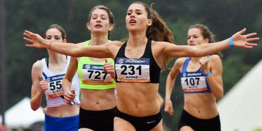 Anne Knijnenburg Nederlands kampioen op 800 meter