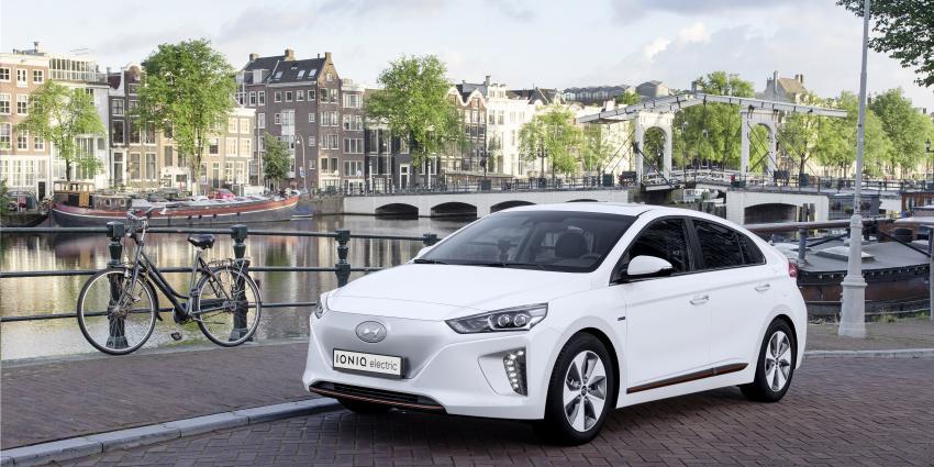 Hyundai geeft IONIQ Electric extra impuls via Eneco en Fastned.