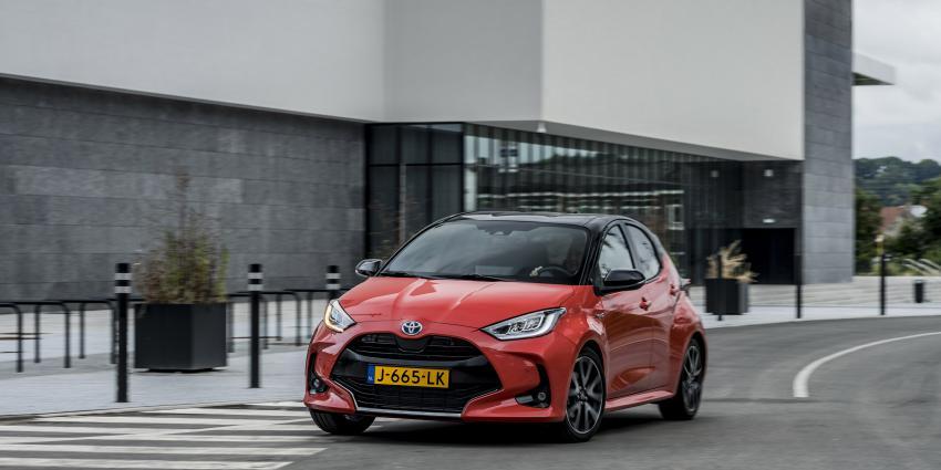 Toyota Yaris is Europese Auto van het Jaar 2021
