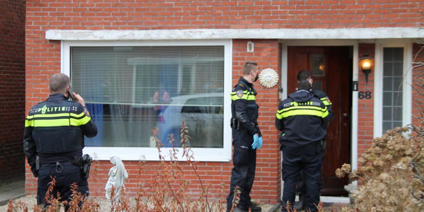Politie doet zoeking in woning