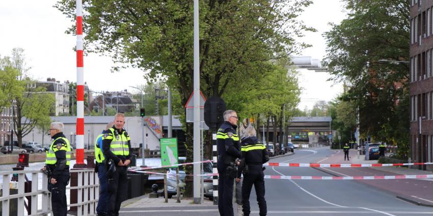 Foto van politieafzetting