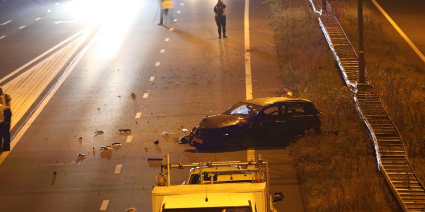 Foto van dodelijk ongeval op A2