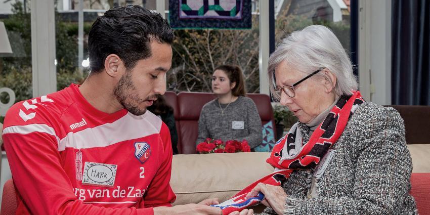 FC Utrecht biedt luisterend oor tijdens 'Week tegen de Eenzaamheid'