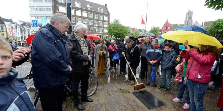 Foto van onthulling gedenksteen | Aneo Koning | www.fotokoning.nl