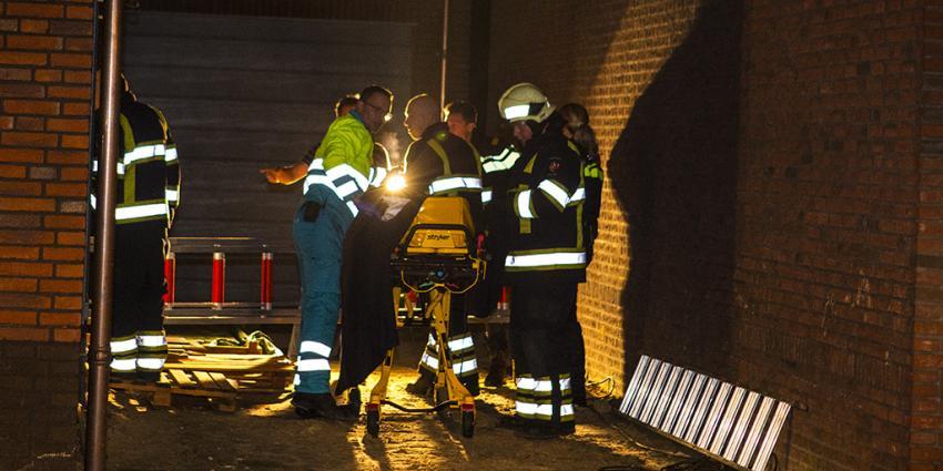 Man gewond na val in nieuwbouwwoning Boskant