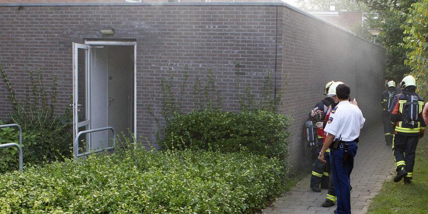 Brand spouwmuur De Breehorn Veendam   Stichting VIP   www.parkstadveendam.nl