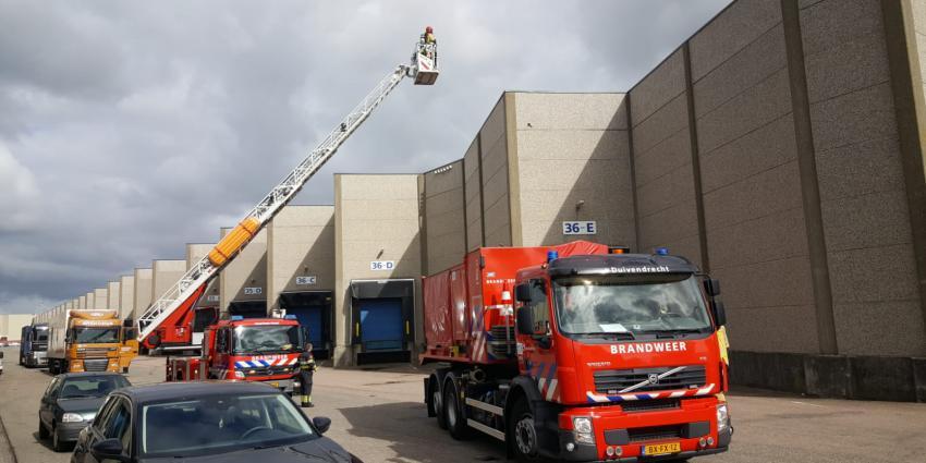 Brand Latexweg Amsterdam