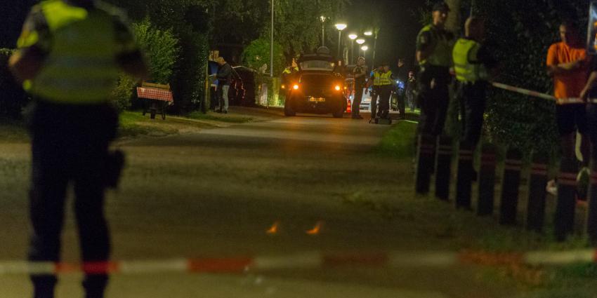 Veel politie op de been in Kiel-Winneweer na schietpartij