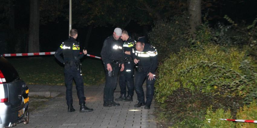 Politie zoekt naar bewijsmateriaal