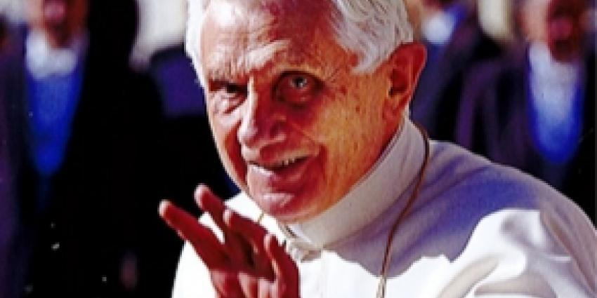 Foto van paus Benedictus XVI | Archief FBF.nl