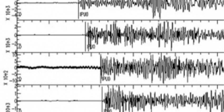 Foto van output aardbeving   Archief FBF.nl