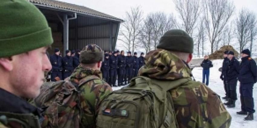 Foto van militairen | Archief FBF.nl