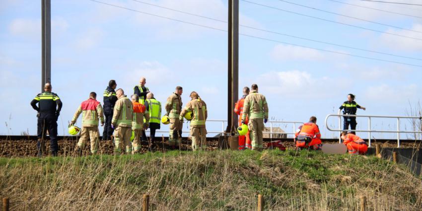 Treinverkeer stil na ongeval