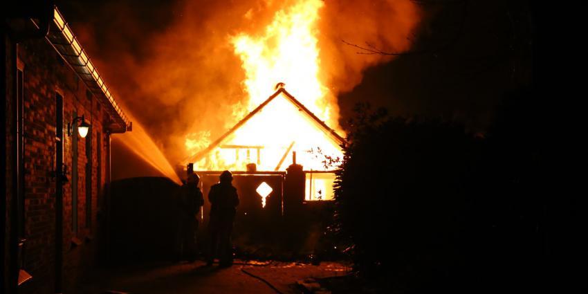 Schuur afgebrand in Eexterveen
