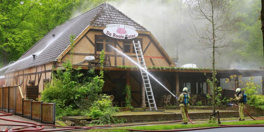 Restaurant verwoest door brand