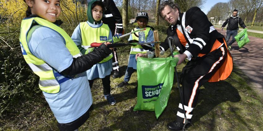 113.500 vrijwilligers gaan samen op pad tijdens Landelijke Opschoondag
