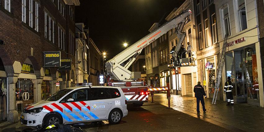 Foto van twee winkel inbrekers aangehouden | Persburo Sander van Gils | www.persburausandervangils.nl