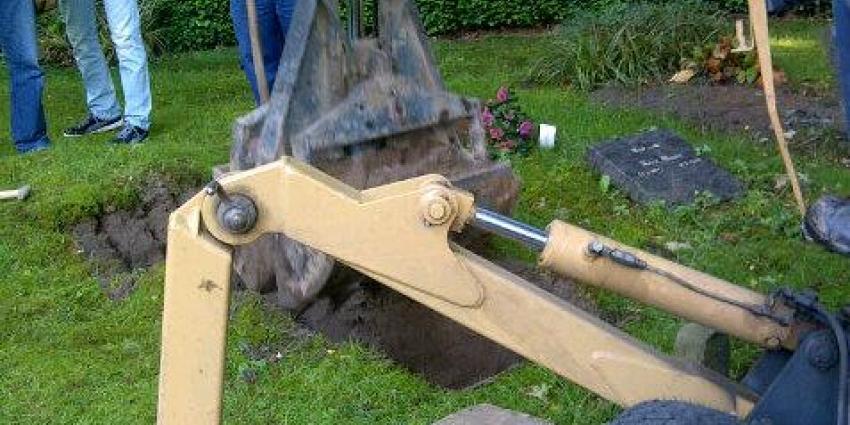 Foto van opgraving Heulmeisje | Politie Midden-Nederland