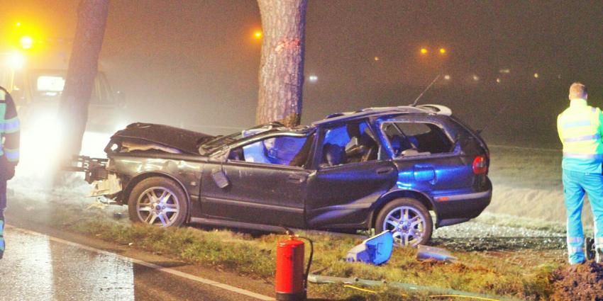 Automobilist komt om het leven in Brabantse Chaam