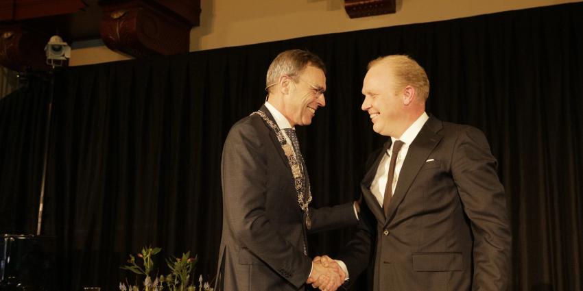 Henk Jan Bolding geïnstalleerd als burgemeester van Het Hogeland