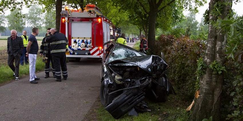 Foto van auto-ongeval | Persburo Sander van Gils | www.persburausandervangils.nl