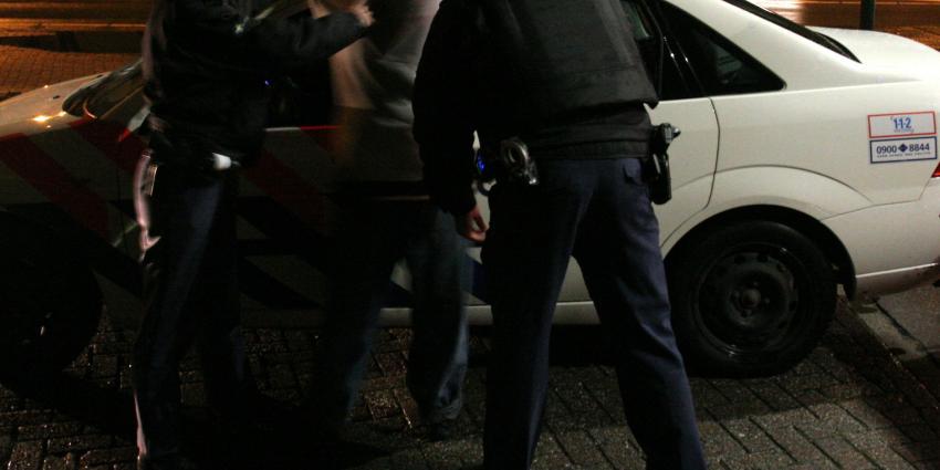 foto van arrestatie inbrekers | BON