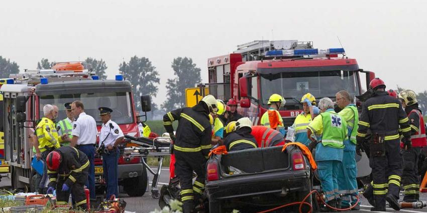 Foto van aanrijding snelweg N33 | Parkstadveendam.nl | www.parkstadveendam.nl