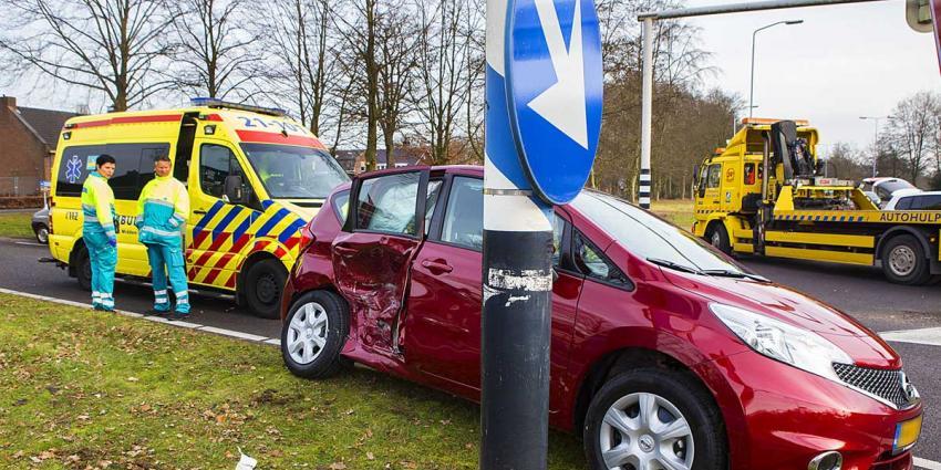 Verkeersongeval met stremming N65 bij Helvoirt