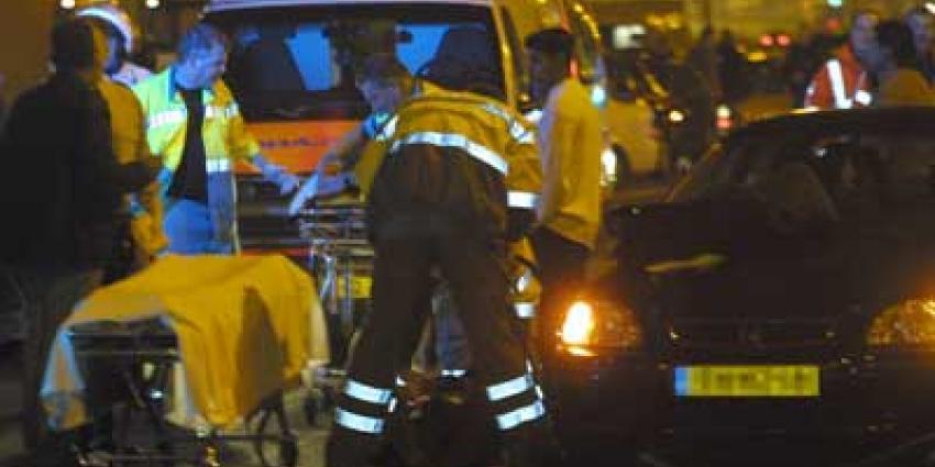 Foto van aanrijding ambulance donker   Archief EHF