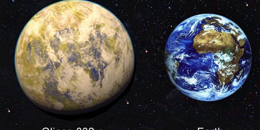 Buitenaards leven, aarde, Gliese 832 c