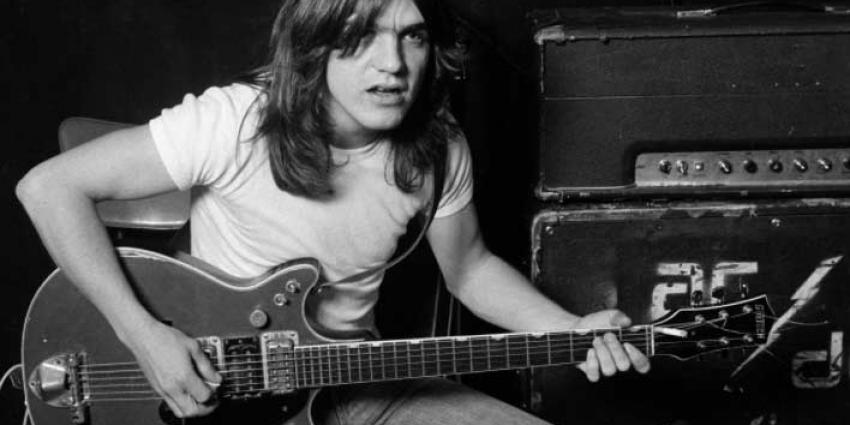 Gitarist Malcolm Young AC/DC overleden