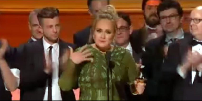 Adele grote winnaar Grammy Awards