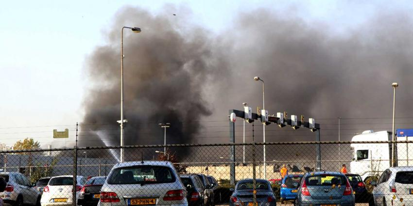 Zeer grote brand bij afvalverwerking AEB Amsterdam