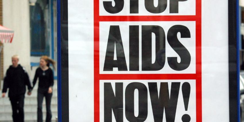 foto van stop aids now | fbf